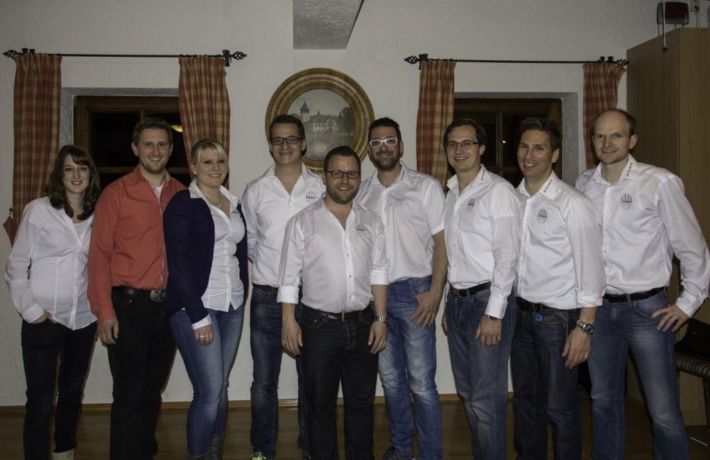 Vorstandschaft SC Pullach